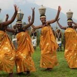 Volcanoes National Park-women cultural dance