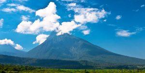 Mountain Nyamuragira Volcanoes Rwanda