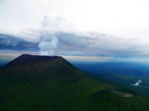 3 days hiking Nyiragongo