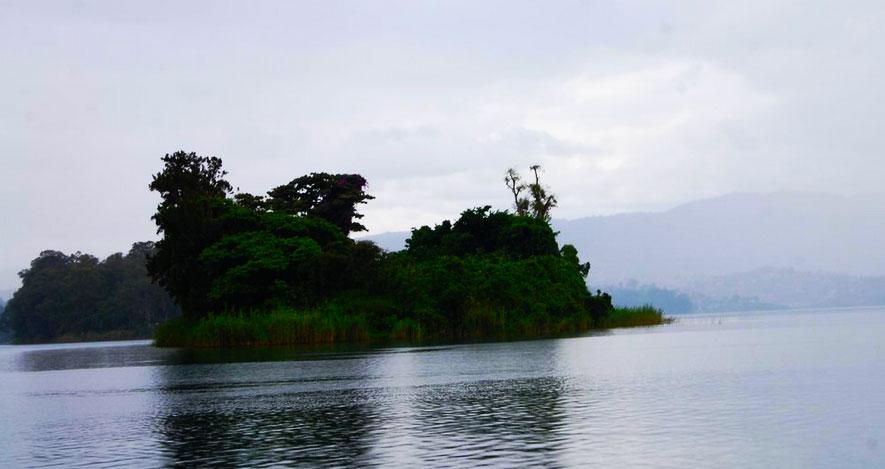 Lake Kivu Rwanda Largest River