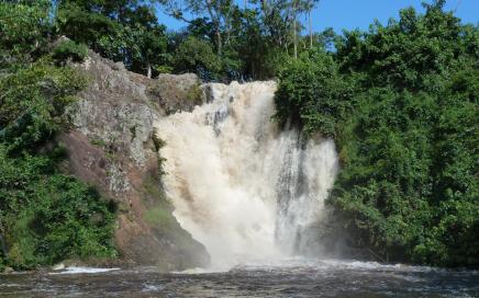Sezibwa Falls-shores